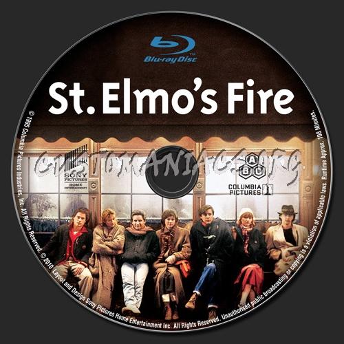 St. Elmo's Fire blu-ray label