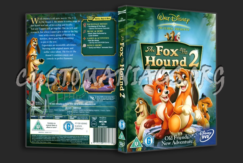 The Fox And The Hound 2 dvd cover - DVD Covers & Labels by ...