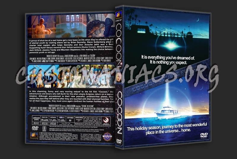 Cocoon 1 & 2 Double Feature dvd cover