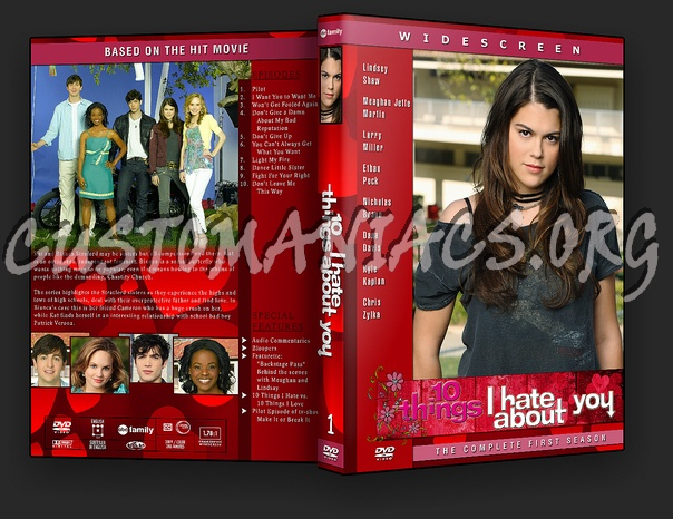 10 Things I Hate About You Cover: DVD Covers & Labels By Customaniacs