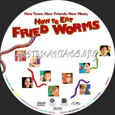 How to Eat Fried Worms dvd label