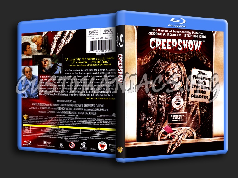 Creepshow blu-ray cover