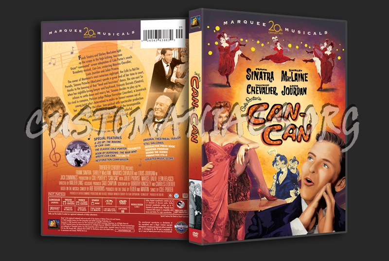 Can Can dvd cover
