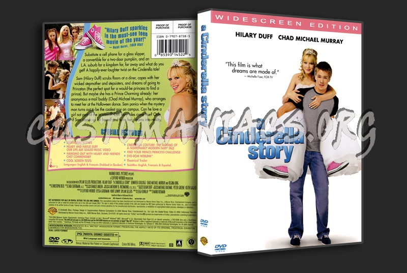 A Cinderella Story dvd cover - DVD Covers & Labels by