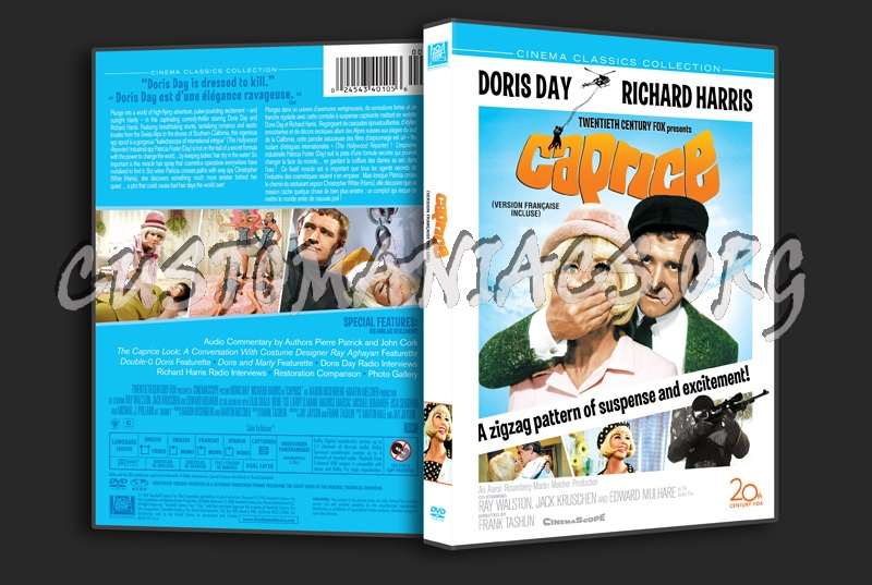 Caprice dvd cover