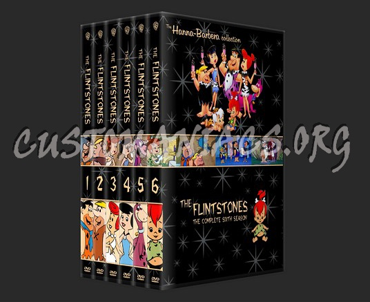 The Flintstones Season 1-6 dvd cover