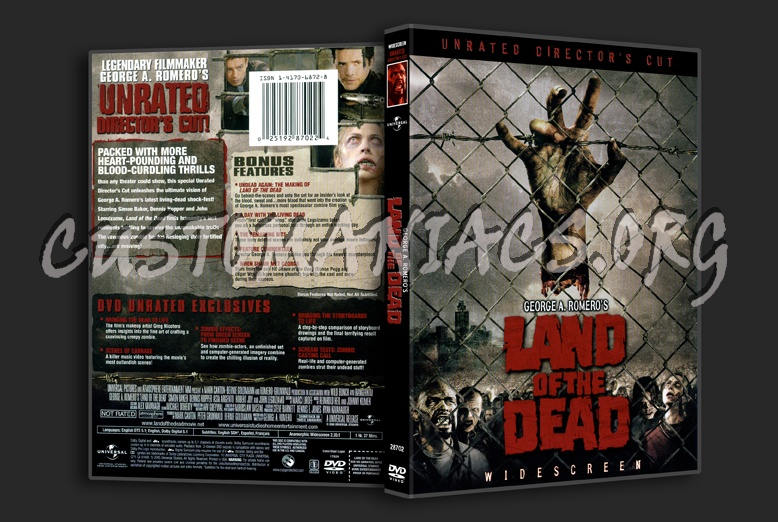 Land Of The Dead 2005 dvd cover