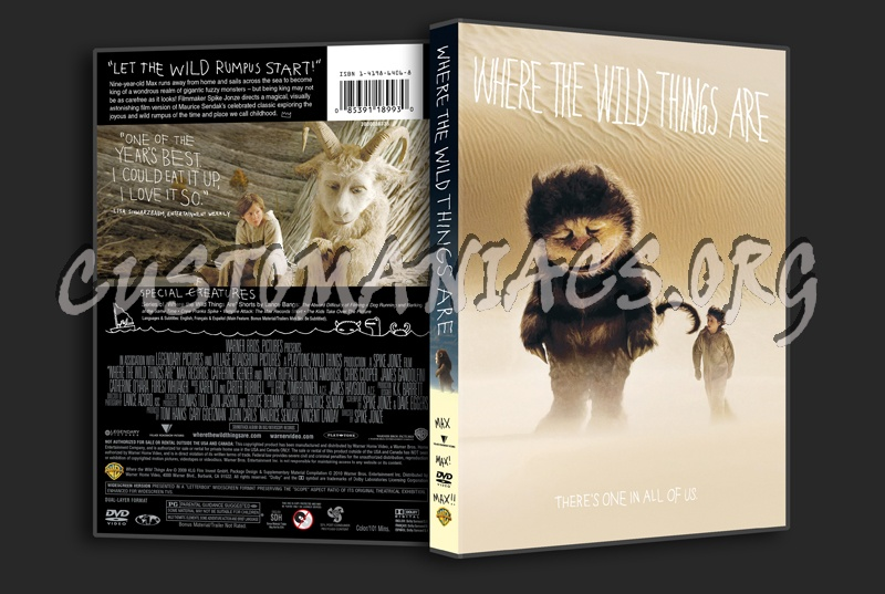 Where the Wild Things Are dvd cover - DVD Covers & Labels ...