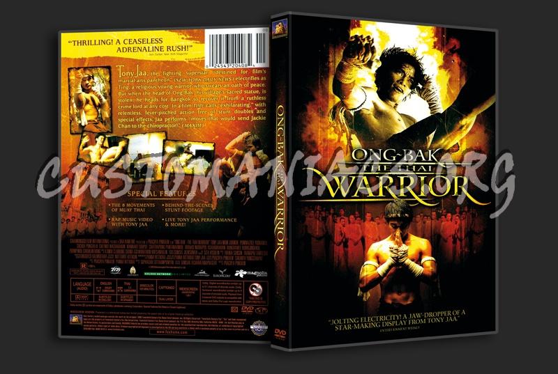 Ong-Bak The Thai Warrior dvd cover