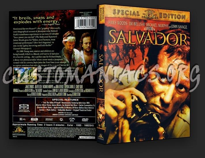 Salvador dvd cover