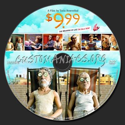 $9.99 dvd label