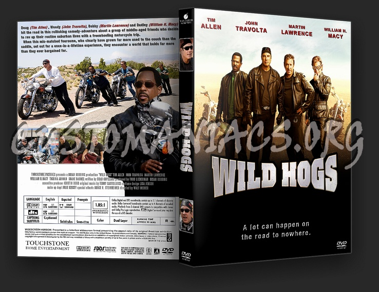 Wild Hogs dvd cover