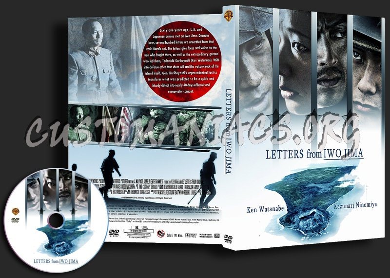 Letters From Iwo Jima dvd cover