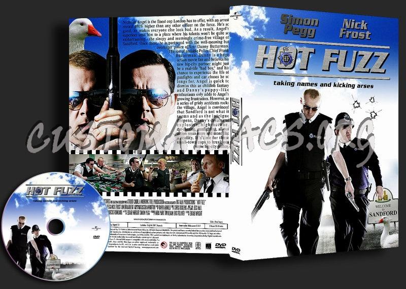 Hot Fuzz dvd cover