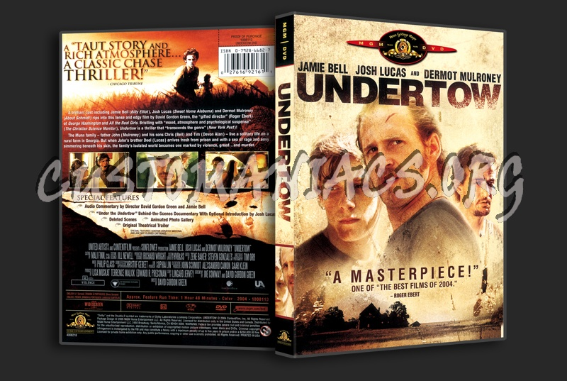 Undertow dvd cover - DVD Covers & Labels by Customaniacs, id: 309