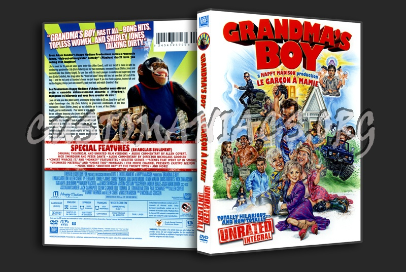 Grandma's Boy dvd cover