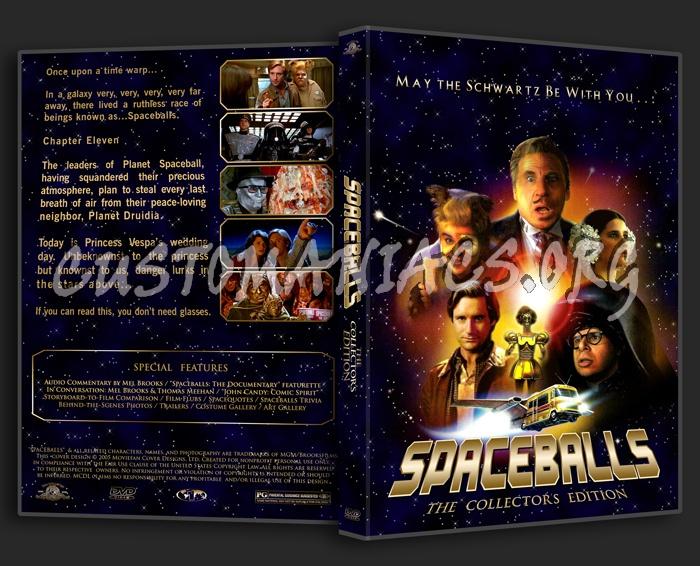 Spaceballs dvd cover