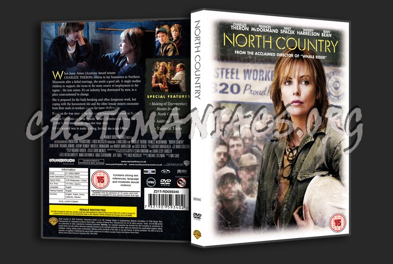 North Country dvd cover
