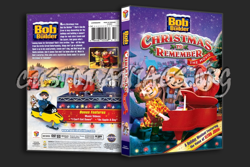 bob the builder christmas to remember dvd cover - Bob The Builder A Christmas To Remember