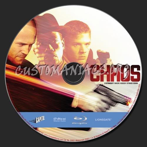 Chaos blu-ray label