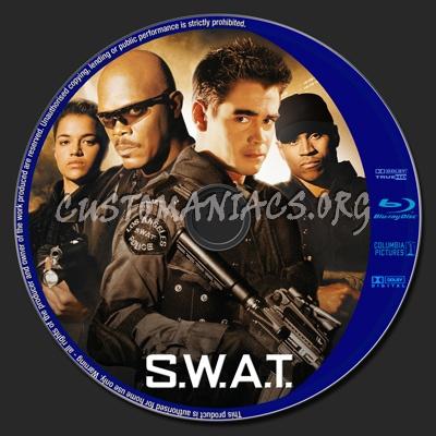 S.W.A.T. (SWAT) blu-ray label