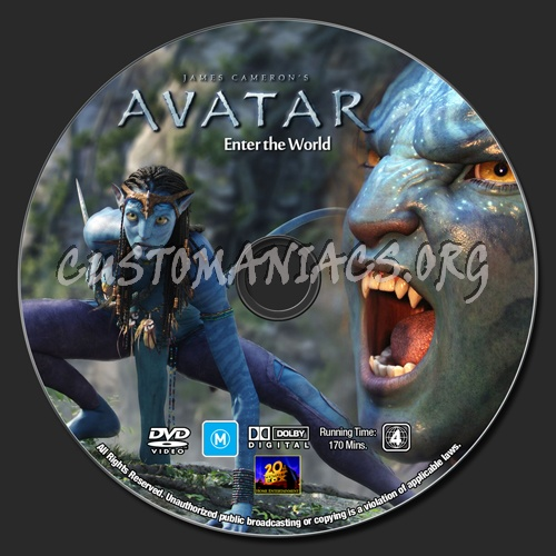 Avatar 2 On Dvd: DVD Covers & Labels By Customaniacs, Id