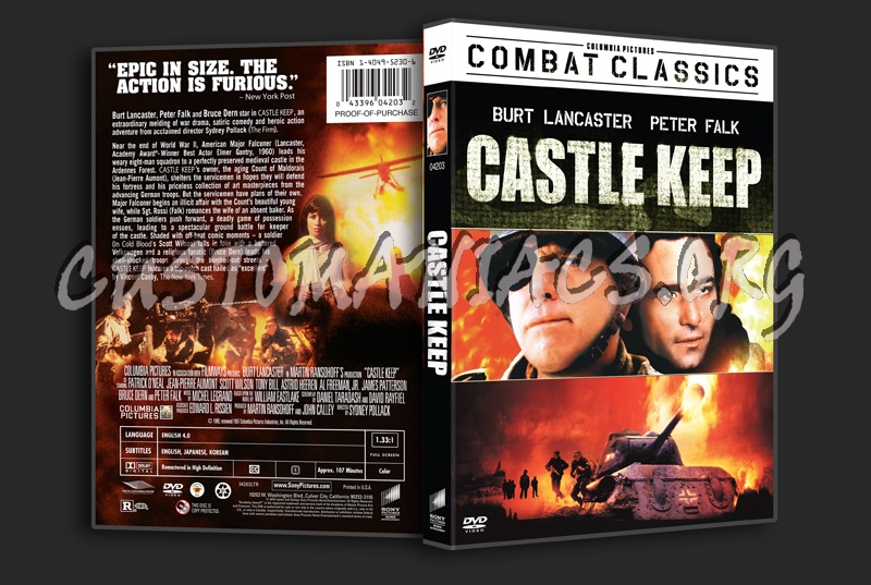 Castle Keep Dvd Cover