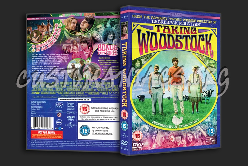 Taking Woodstock dvd cover
