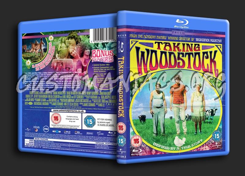 Taking Woodstock blu-ray cover
