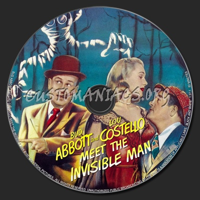 abbott and costello meet the invisible man vhs to dvd