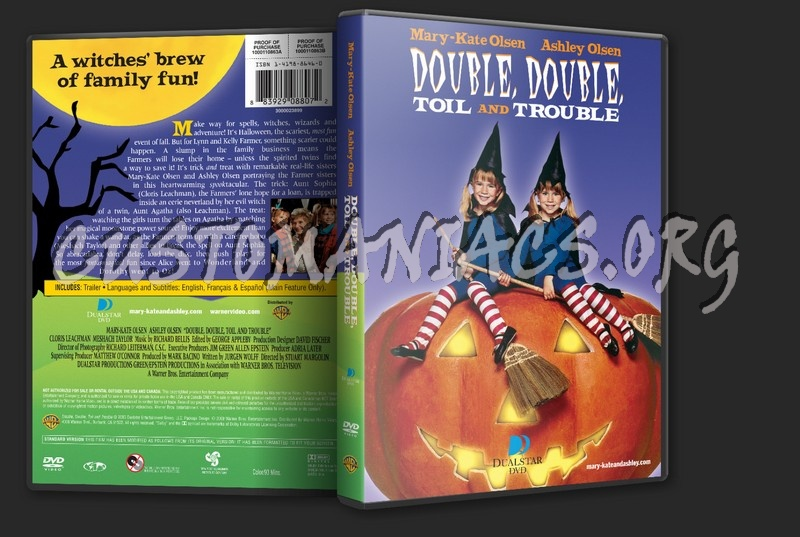 Double The Trouble Quotes: Double, Double, Toil And Trouble Dvd Cover