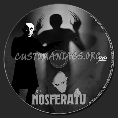 Nosferatu dvd label