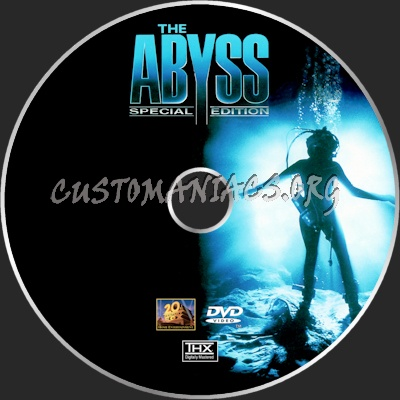 The Abyss dvd label