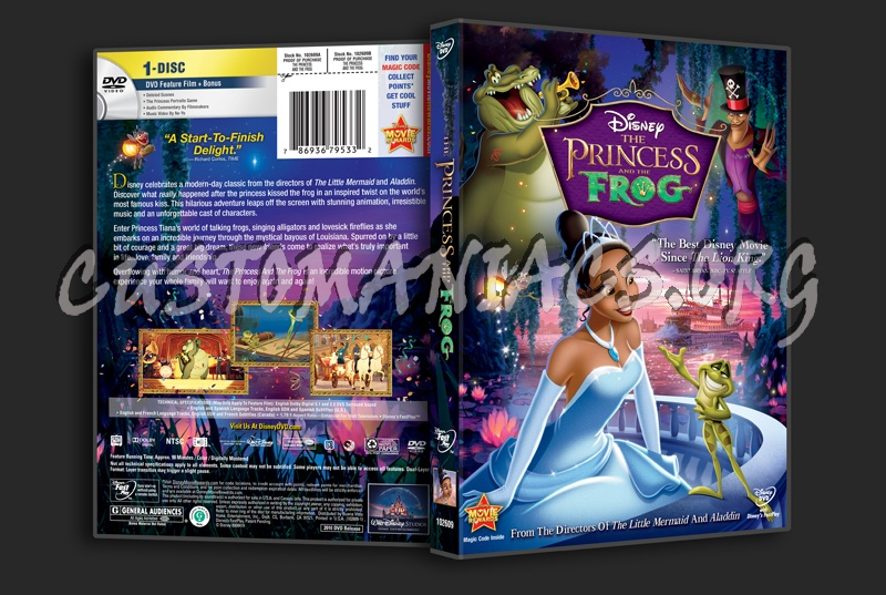 The Princess and the Frog dvd cover - DVD Covers & Labels ...