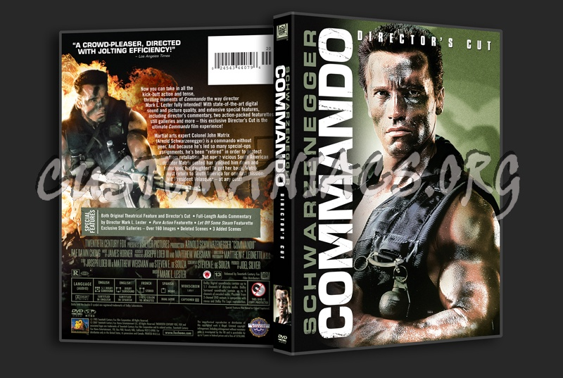 Commando dvd cover