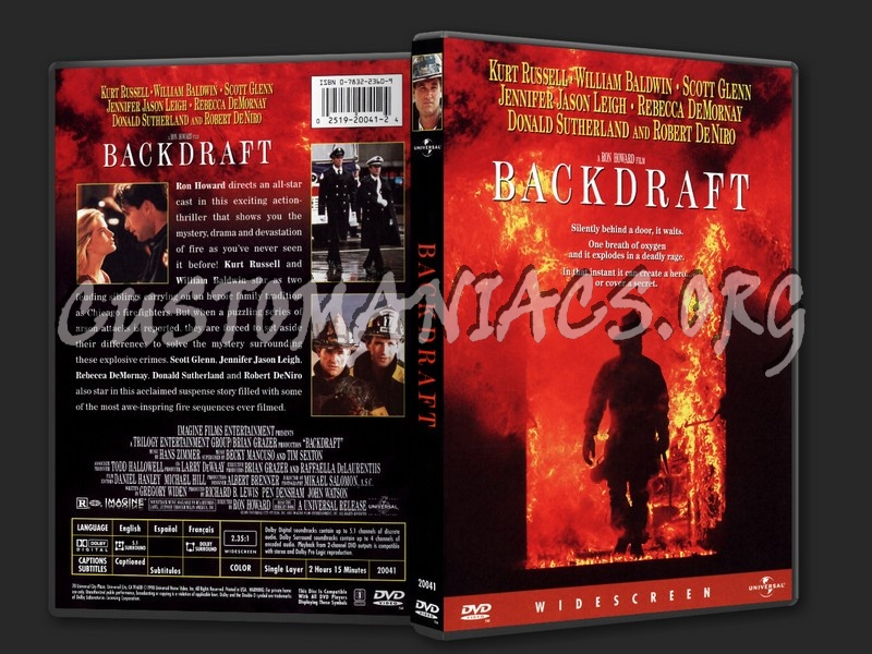 Backdraft dvd cover