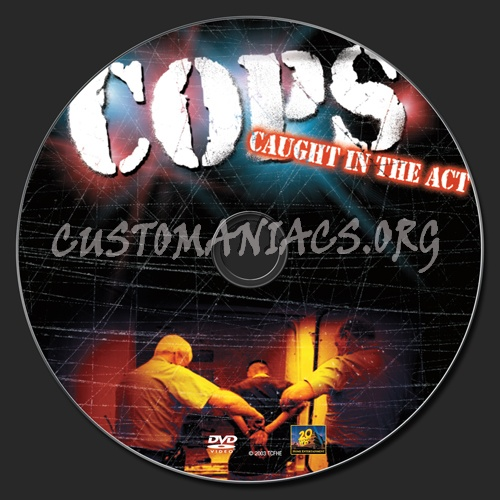 Cops Caught in the Act dvd label