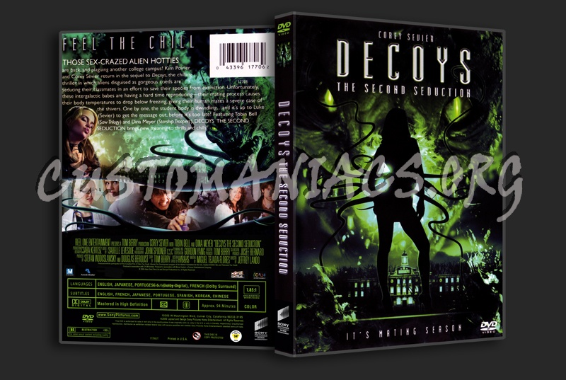 Decoys the Second Seduction dvd cover