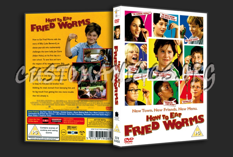 How To Eat Fried Worms dvd cover