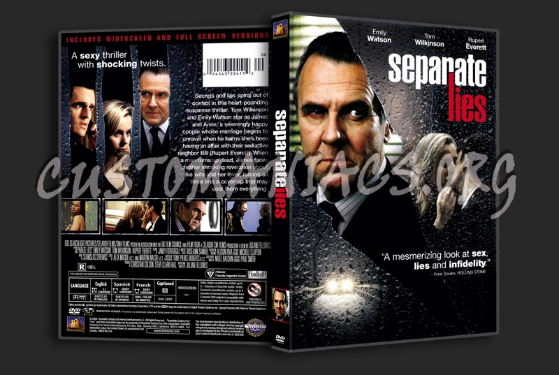 Separate Lies dvd cover