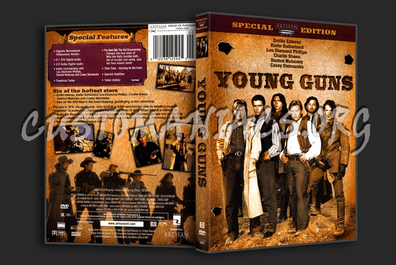 Young Guns dvd cover