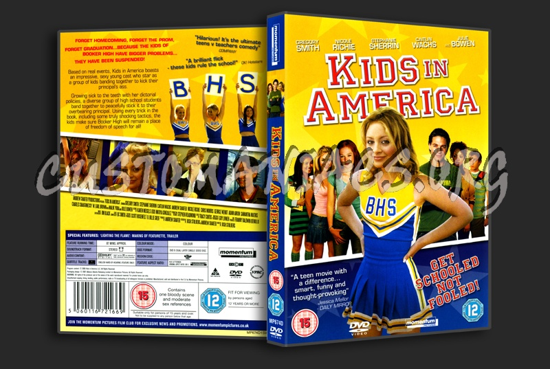 Kids In America dvd cover