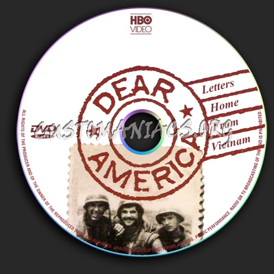 Dear America dvd label