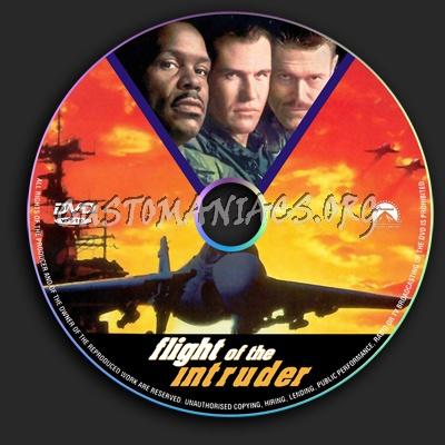 Flight Of The Intruder dvd label