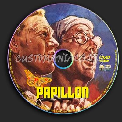 Papillon dvd label