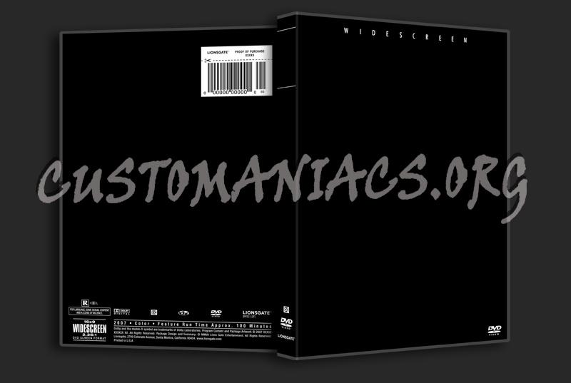 Lionsgate Template dvd label