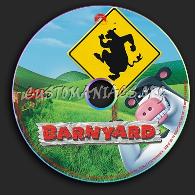 Barnyard dvd label