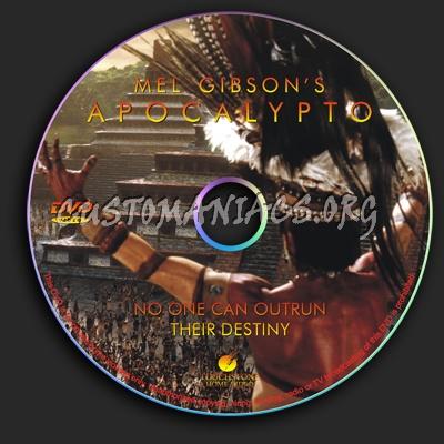 Apocalypto dvd label