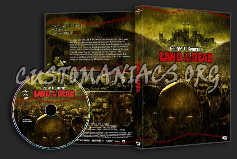 Land Of The Dead dvd cover