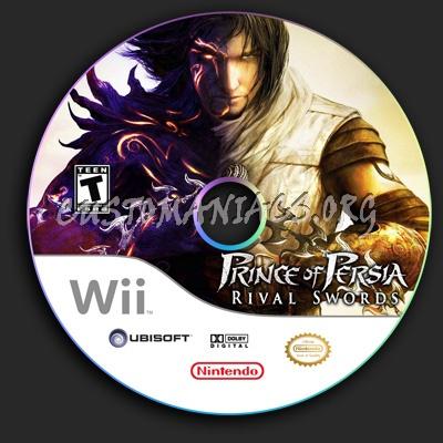 Prince Of Persia Rival Swords dvd label